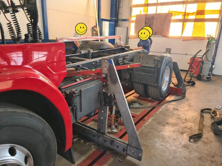 prostowanie ram truck service 5