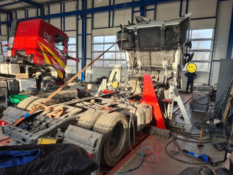 prostowanie ram truck service 8